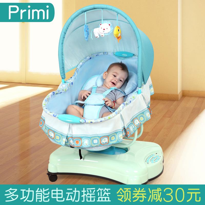 Primi электрический ребенок колыбель стул ребенок колыбель ребенок колыбель кровать уговаривать сон артефакт мало нового рожденные дети колыбель кровать