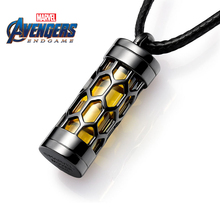 Van a/Manwei Authorized Avenger Alliance 4 Ant Man Silver Necklace Tide Hip-hopping Men and Women's Bullshit Clavicle Chain