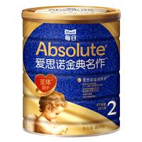 爱思诺金典名作 韩国进口婴儿配方奶粉2段800g牛奶粉3听装