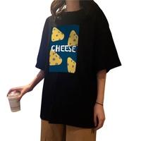 港风大版ulzzang纯棉短袖夏季t恤评价好不好