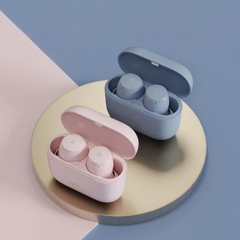�有穆�步者蓝牙耳机双耳入耳式隐形超长待机女生款可爱真无线耳机无限安卓通用适用于iphone华为vivo有心