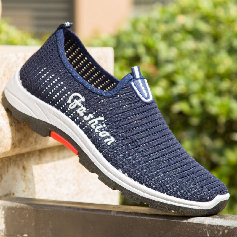 Old travel breathable and deodorant cloth shoes soft sole sports 2020 Beijing hollow net travel shoes leisure sports upper