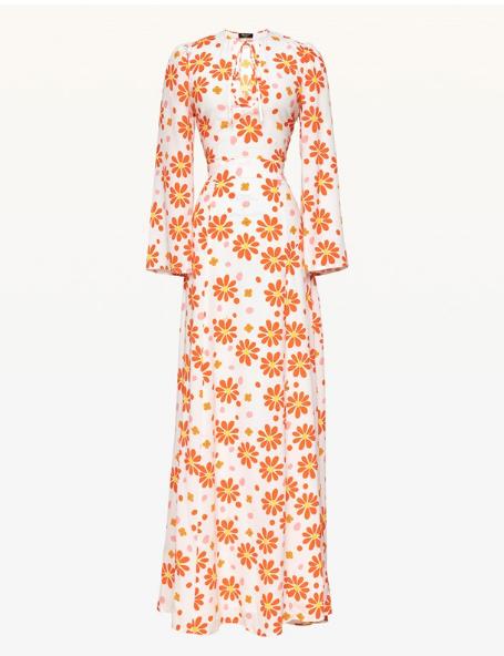 折 美国正品代购 Juicy Couture 18夏 印花 长款 连衣裙