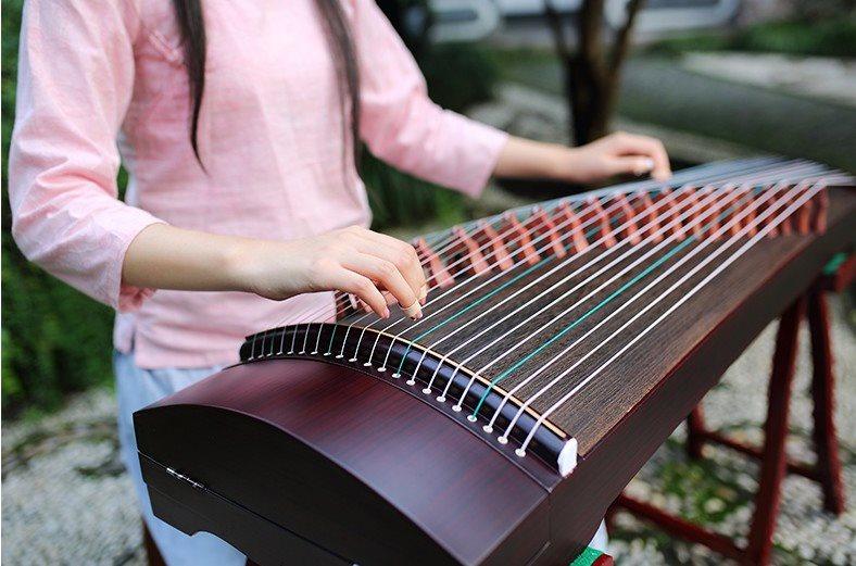 祥音迷你小儿童初学者古筝考级入门演奏专业便携式儿童半筝器