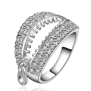 finger ladyworldwis R585 Silver new for design ring plated