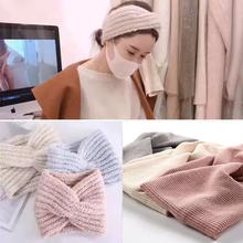 坐月子帽子2020春秋产后防风产妇头巾毛棉透气时尚日韩发带宽针织