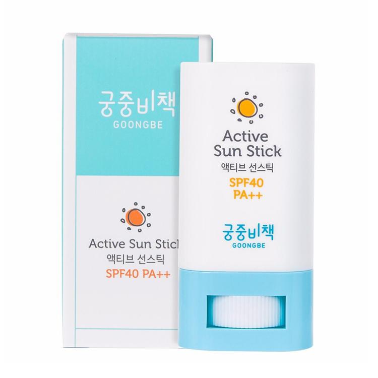 Korean original goongsecret palace secret baby active sunscreen stick 21g