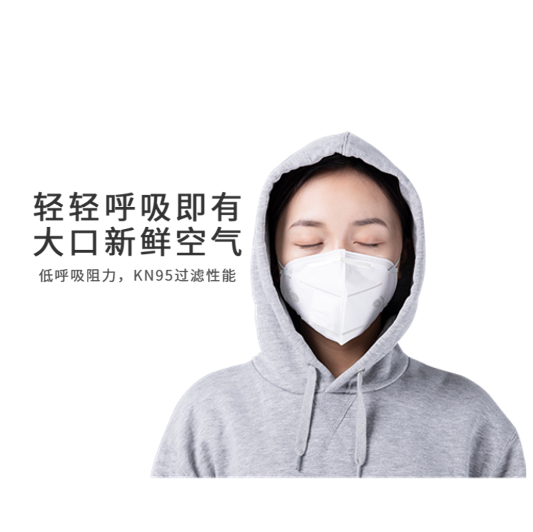 Beijing spot air breathing kn95 non disposable face mask electric mask children students start school