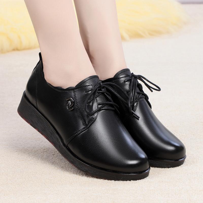 大码女单鞋平底