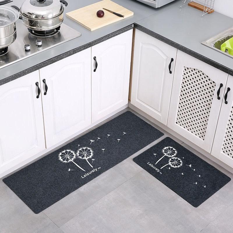 厨房地垫脚垫防油长条卫浴防滑门口吸水门垫地毯推门垫卧室可水洗