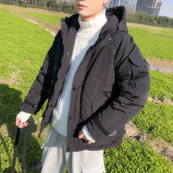 冬季棉袄男潮流工装棉衣韩版宽松加厚学生羽绒棉服港风bf潮牌外套