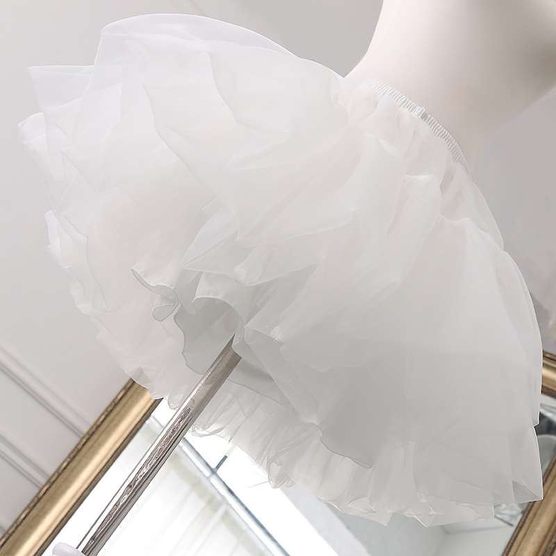 Lolita daily support boneless skirt lining skirt wedding dress supporting skirt Lolita extra large bride accessories petticoat