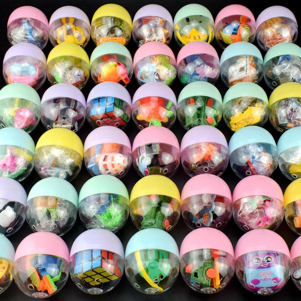 50号马卡龙色扭蛋球玩具奇趣蛋扭蛋机球惊喜蛋扭扭蛋男孩女孩玩具