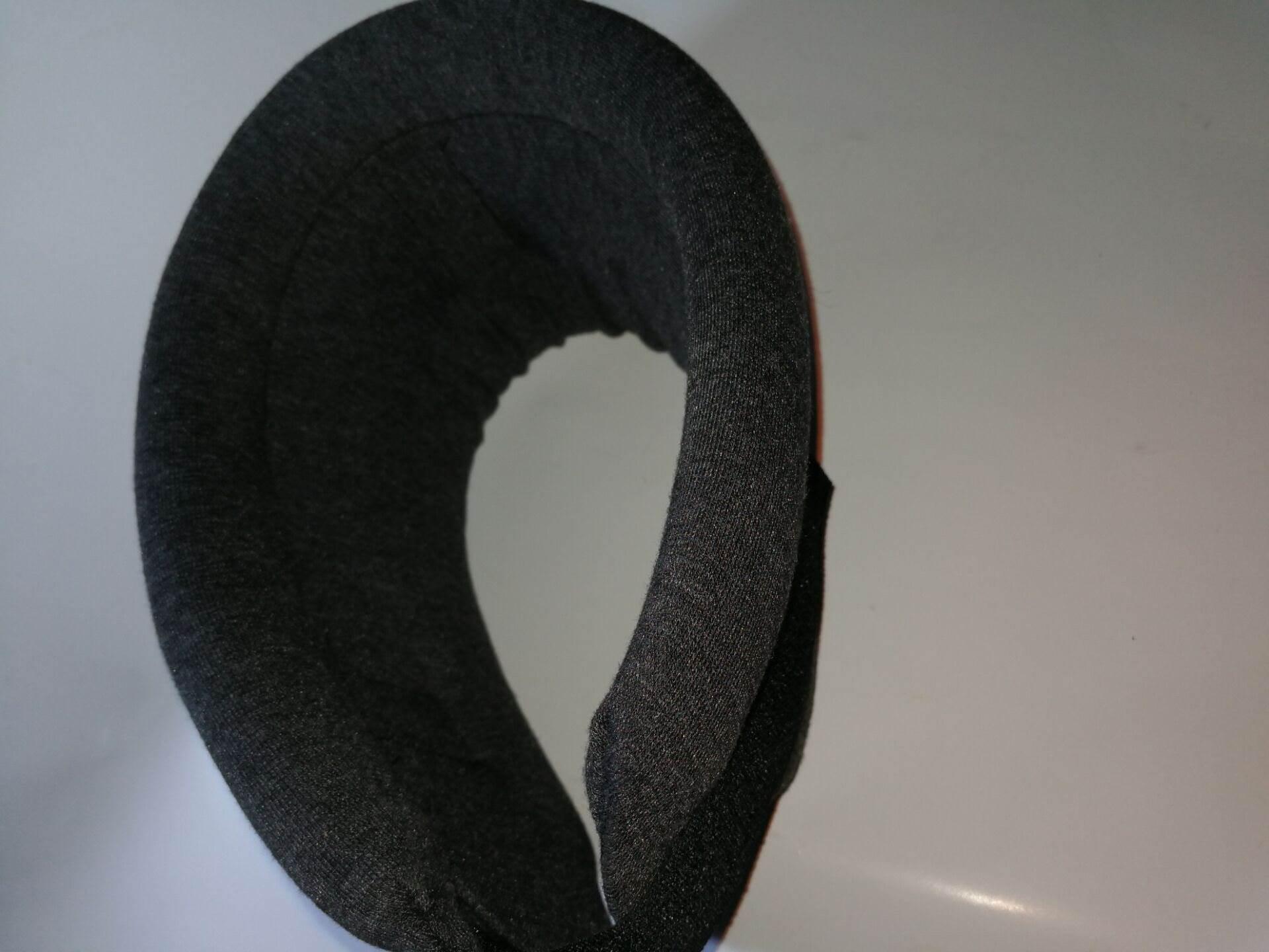 外层纯棉布颈托可调升降 护颈椎套护脖子 保护颈椎托围领固定