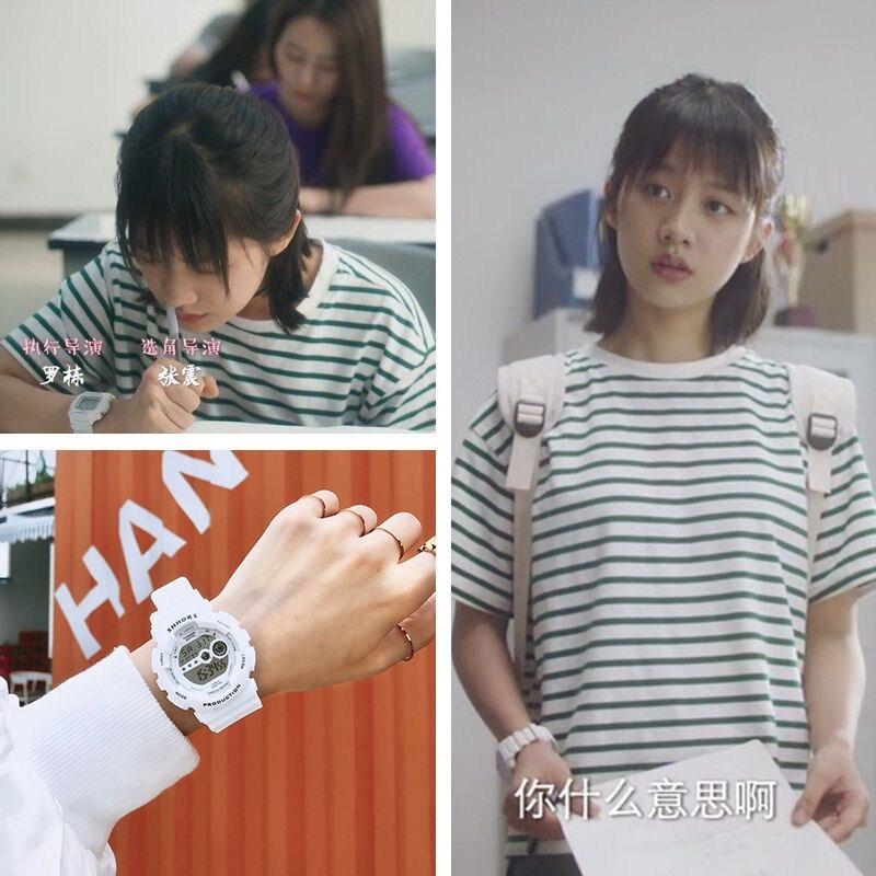 电子手表ins超火女学生韩版多功能运动夜光防水儿童学生电子男表
