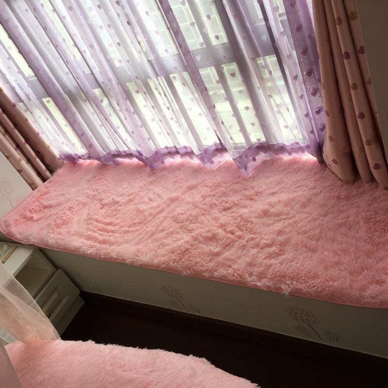 11月11日最新优惠长毛绒卧室飘窗垫四季客厅茶几垫子