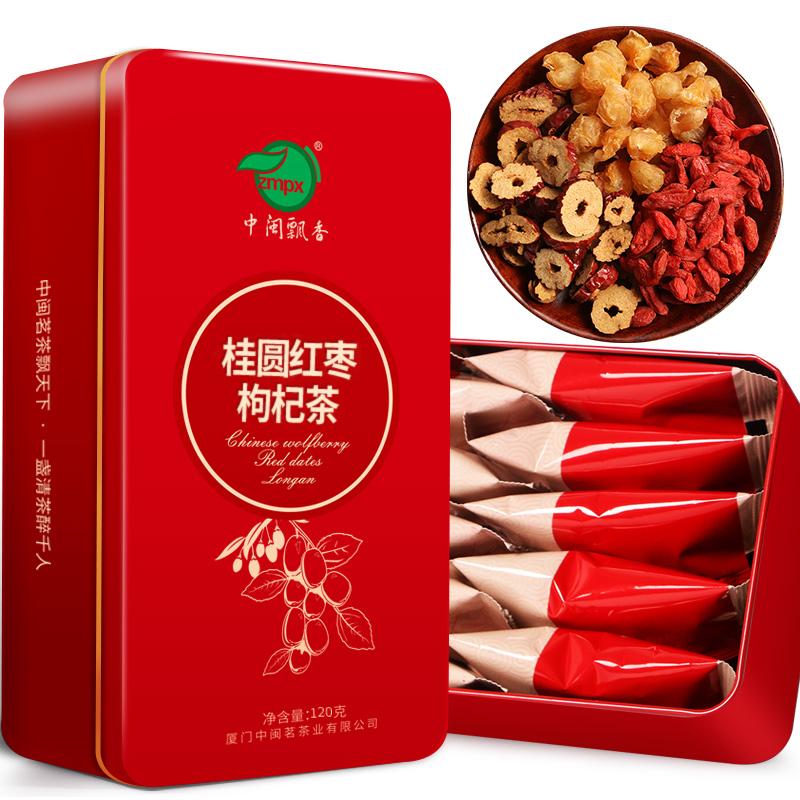 Красный Чай Jujube Longan Восьмой чайный комбинат чая Бабао Fruit Camellia Five Tea
