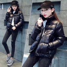 Cotton padded clothes, cotton padded clothes, women's winter clothes, 2019 new Korean version loose bread clothes, short down small cotton padded jacket, fashion