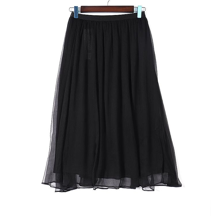 佐尚  11822QC676   时尚简约半身裙AM