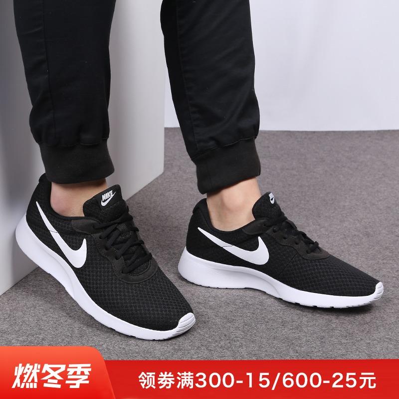 耐克男鞋tanjun秋冬新款轻便网面舒适跑步鞋运动休闲鞋 812654
