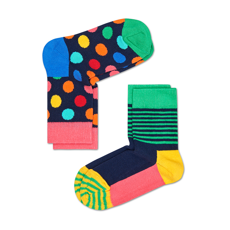 Happysock spring and summer striped cotton socks for boys and girls