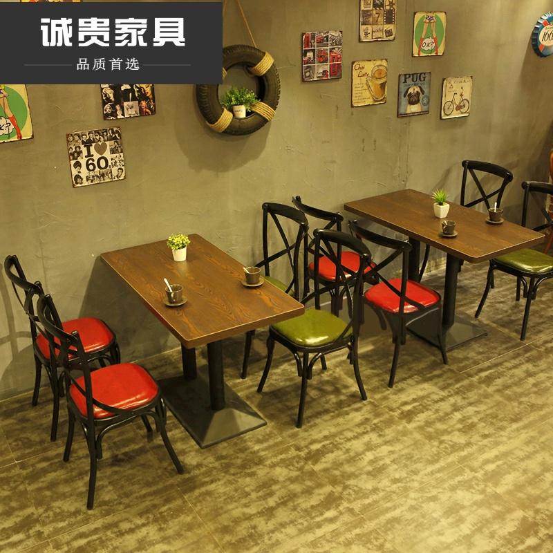 小吃店桌椅组合怎样