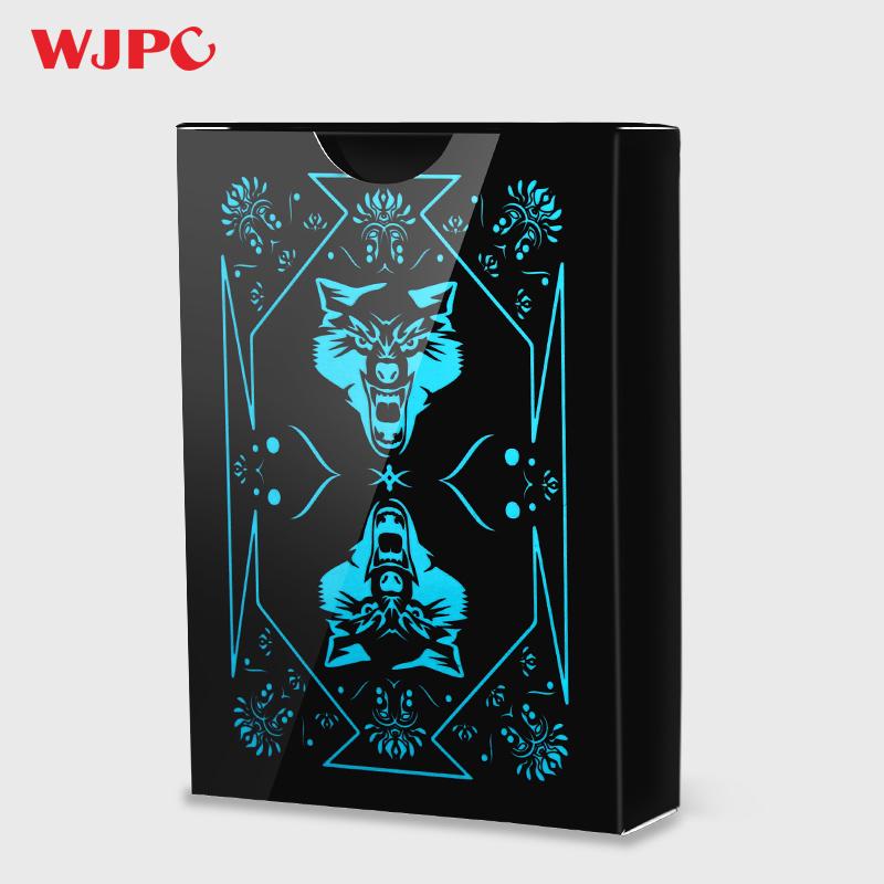 扑克牌加厚塑料PVC创意防水可水洗花切扑克耐磨魔术牌动漫朴克牌