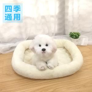 狗窝四季通用狗垫子狗屋泰迪小型中型犬耐咬狗狗床睡垫宠物狗用品