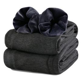 保暖裤男加绒加厚紧身弹力大码修身男士棉裤青年绒裤打底秋裤冬季