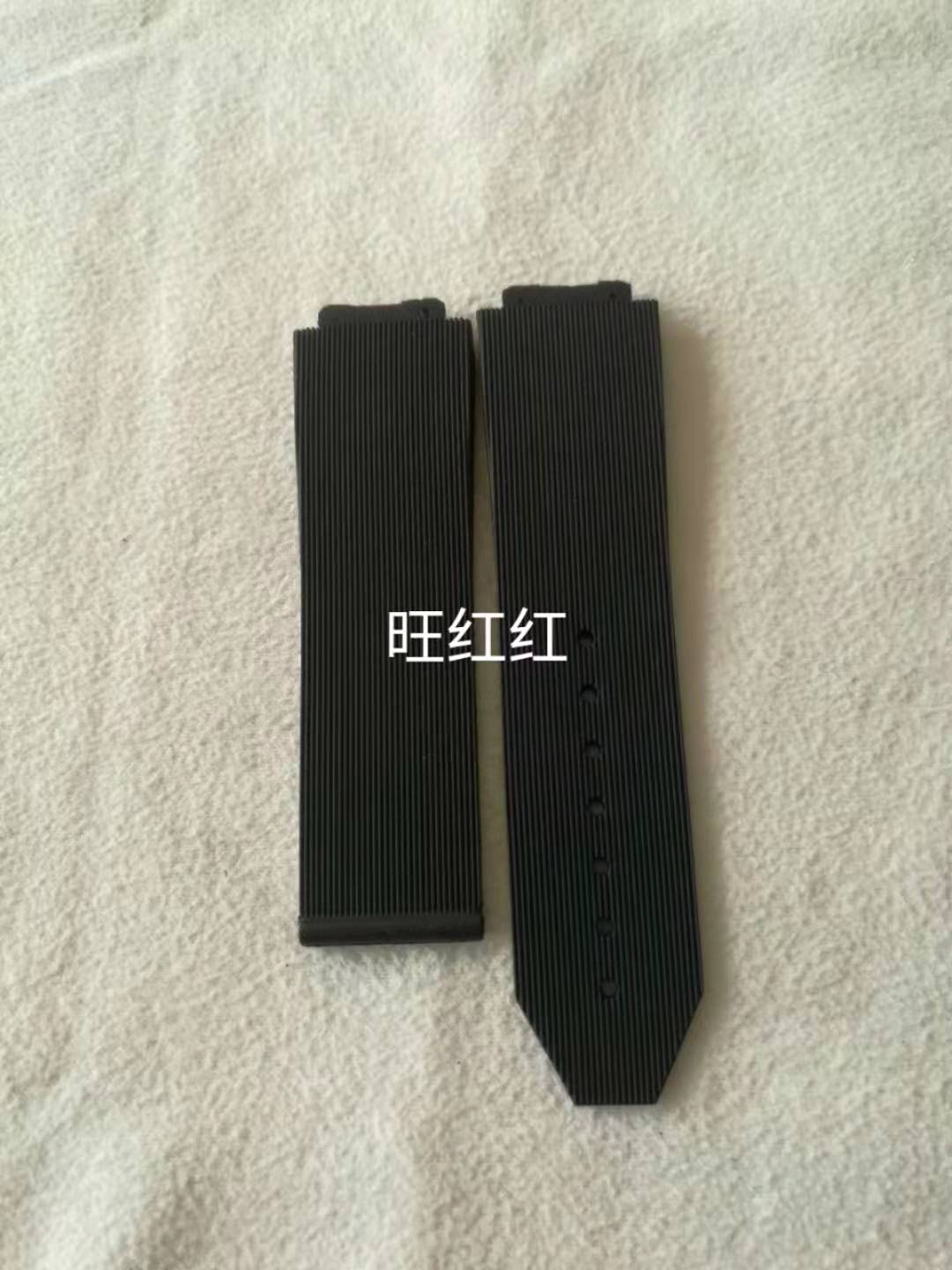 Suitable for substitute Hengbao high-grade / waterproof rubber silicone watch striped belt accessories (Zhongtong parcel post)