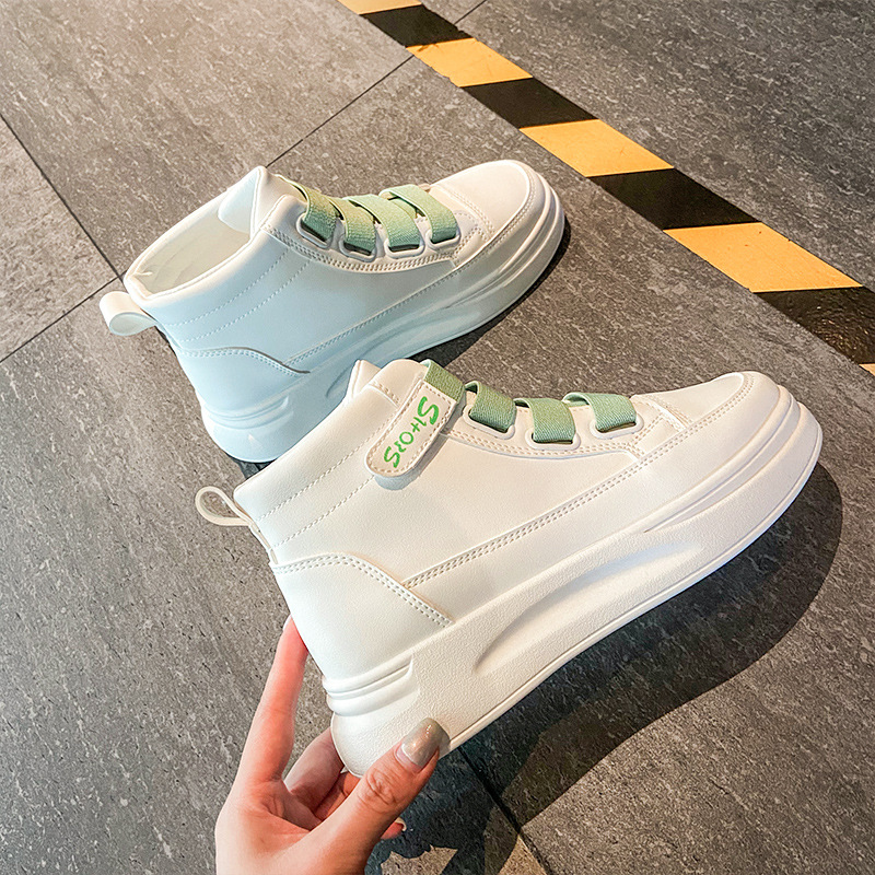 High top shoes for young girls, new high top shoes for girls in the fall of 2020