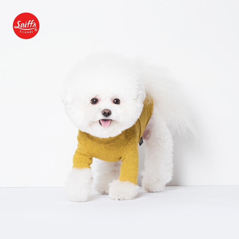 2019秋冬新款宠物服饰拉绒高领亲肤针织衫狗狗衣服 Sniff