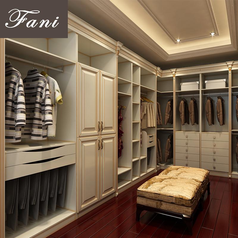 全屋定制家居整体衣柜定做走入式衣帽间衣橱订做卧室现代简约衣柜
