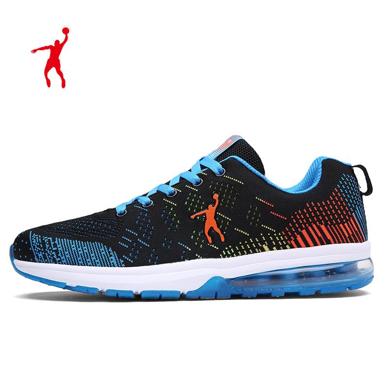 气垫跑步鞋45加大码48飞织运动鞋男47大号49男鞋46大码50乔丹格兰