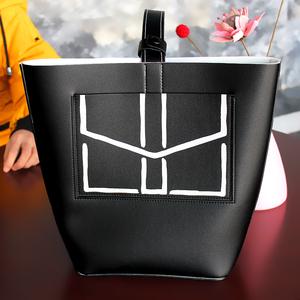 雅诗兰黛 专柜会员赠品单肩包 斜跨包收纳包化妆包手拎专柜赠品