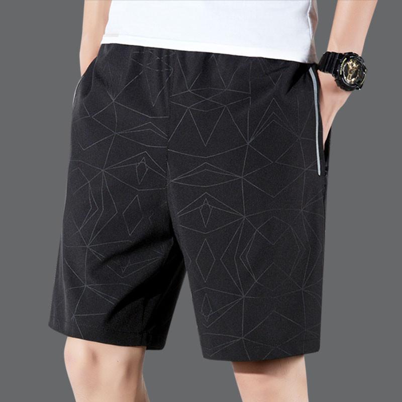 (用5元券)夏季跑步休闲五分裤男士宽松潮短裤