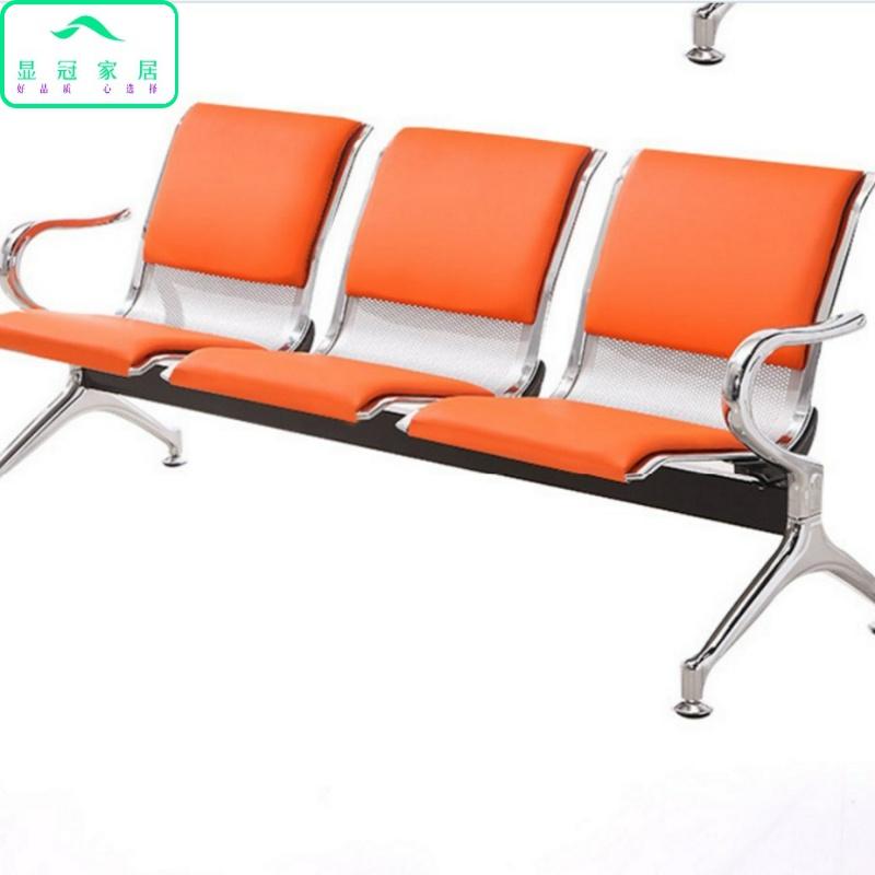长条公共休闲五椅人排椅组合椅休闲输液诊所简约椅座椅连排系列