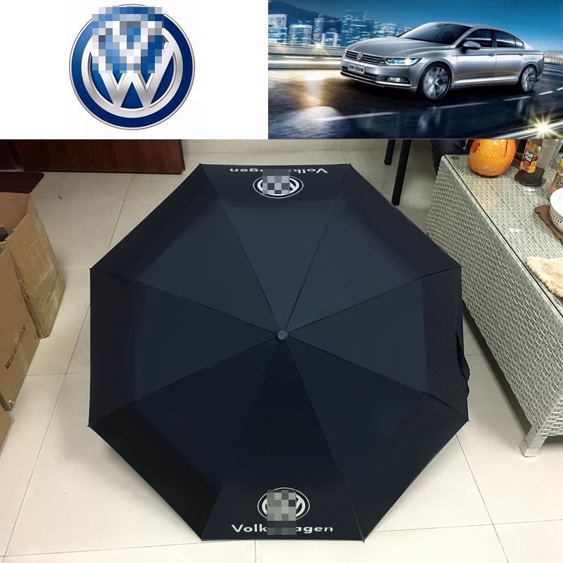 フォルクスワーゲンベンツのロールス?ロイスの高級車の4 SはLOGO贈り物を注文して全自動3折の広告の晴れた傘を使います。