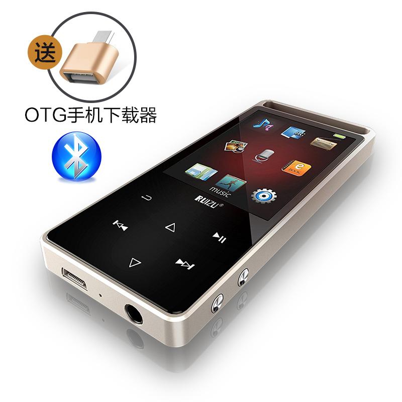 �|摸屏音��mp3播放器�子��朗�x�b控插卡MP4�S身��音�子��