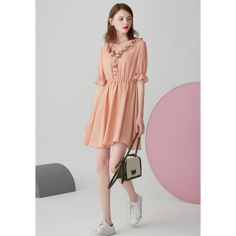 香[X200-354]专柜品牌正品新款女裙子打底女装连衣裙0.31KG