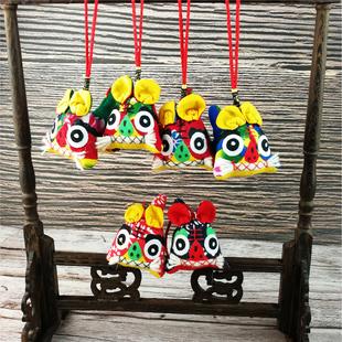 布老虎挂件中国风传统手工特色民俗布艺品出国留学礼品玩具送老外