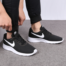 Nike Nike Men's Shoes Summer Running Shoes Mesh Breathing London Sports Shoes Recreational Couple Tanjun Running Shoes Tide