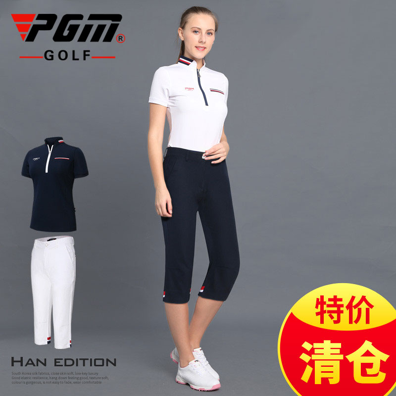 Clearance! Golf wear womens Pants Capris can be matched with long short sleeve clothing summer clothing shorts PGM