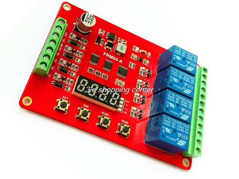 FRM03 relay module / cycle / delay / timer / switch / loc,可领取元淘宝优惠券