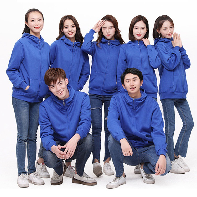 New winter super soft plush sweater mens cardigan hooded fashion coat mens custom gift clothing processing