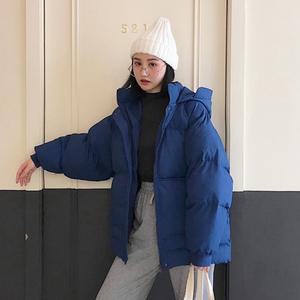 棉服oversize女短款2018新款棉衣学生ins面包服bf棉袄冬季外套潮