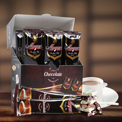 Modao fragrant hot chocolate flavor cocoa powder original baking instant brewed into drink cocoa chocolate 30g*12 bars