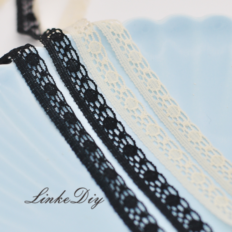 French lace imported lace DIY baby clothes accessories BJD two color into
