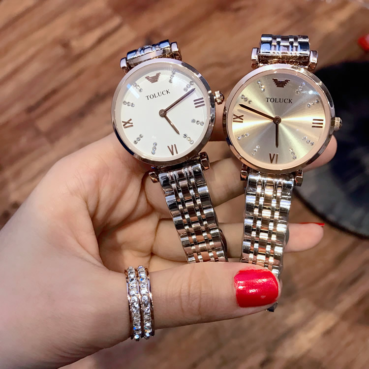 Womens watch simple imported movement 2020 new womens watch genuine fashion ultra thin waterproof boutique womens Watch