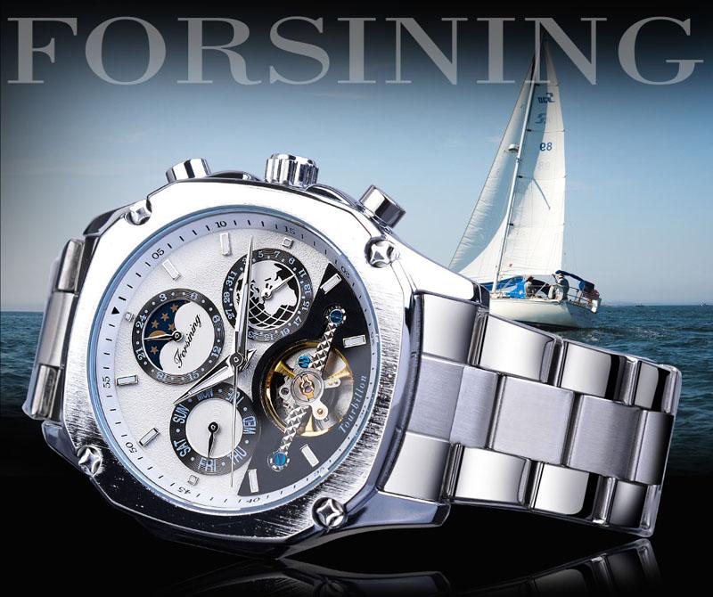 手表男士陀飞轮全自动机械表防水镂空新概念虫洞韩版商务精品腕表